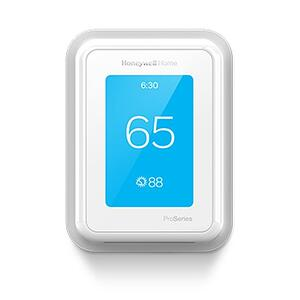 Honeywell T Smart Thermostat Set at 65 Degrees