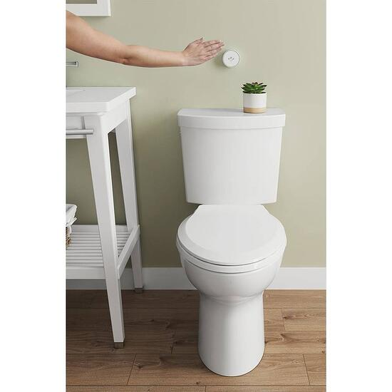 American Standard Studio Toilet with hand waving