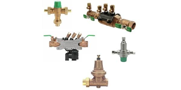 Zurn thermostatic valve selection.