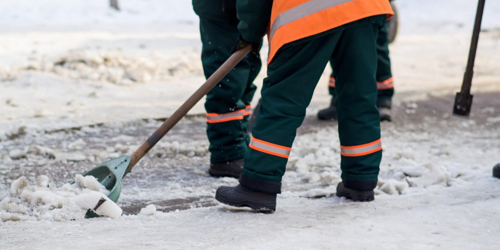 WOL PRO Blog - Winter Safety Clear Walkways