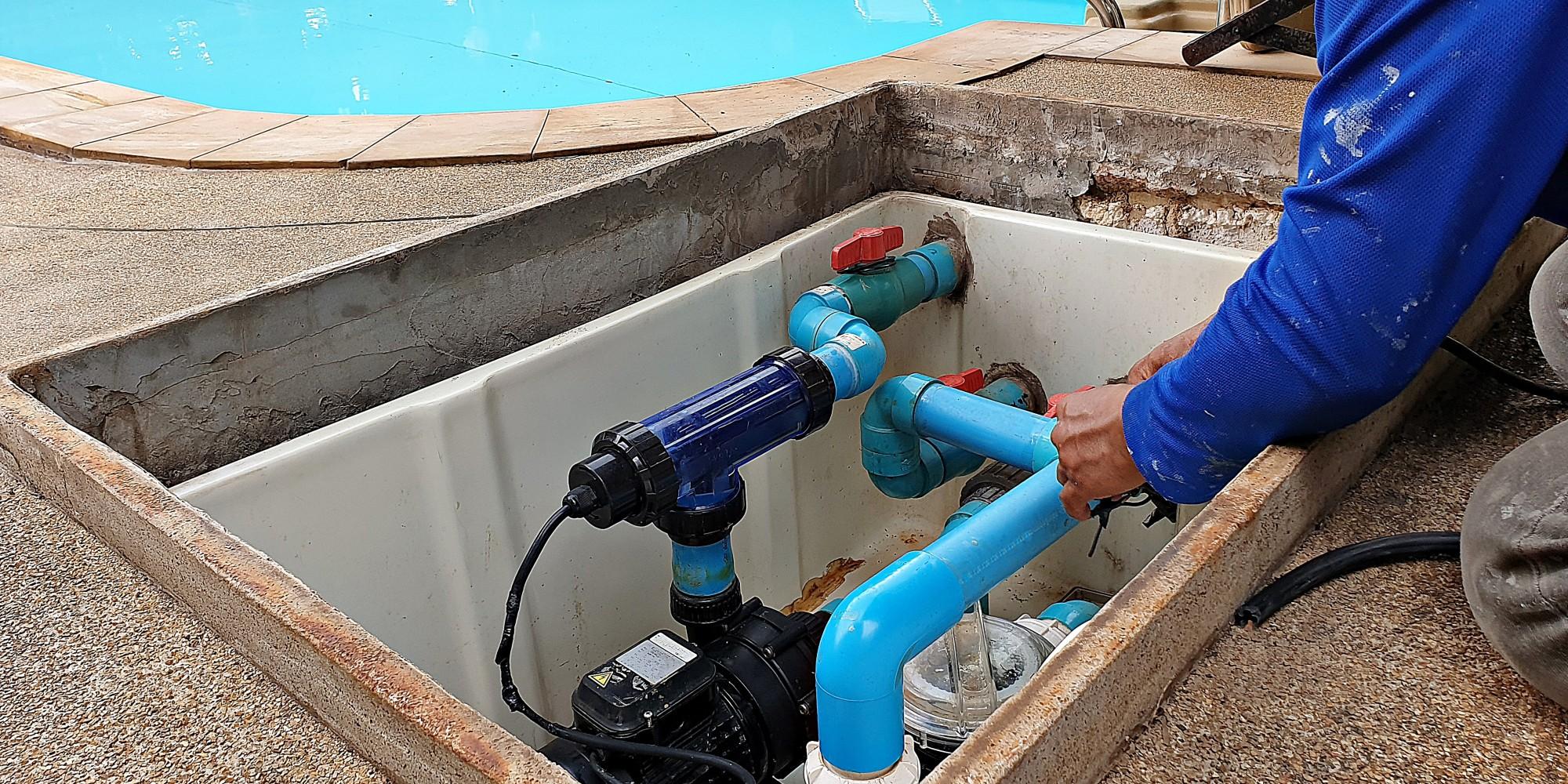 Swimming Pool Pipe Repairs